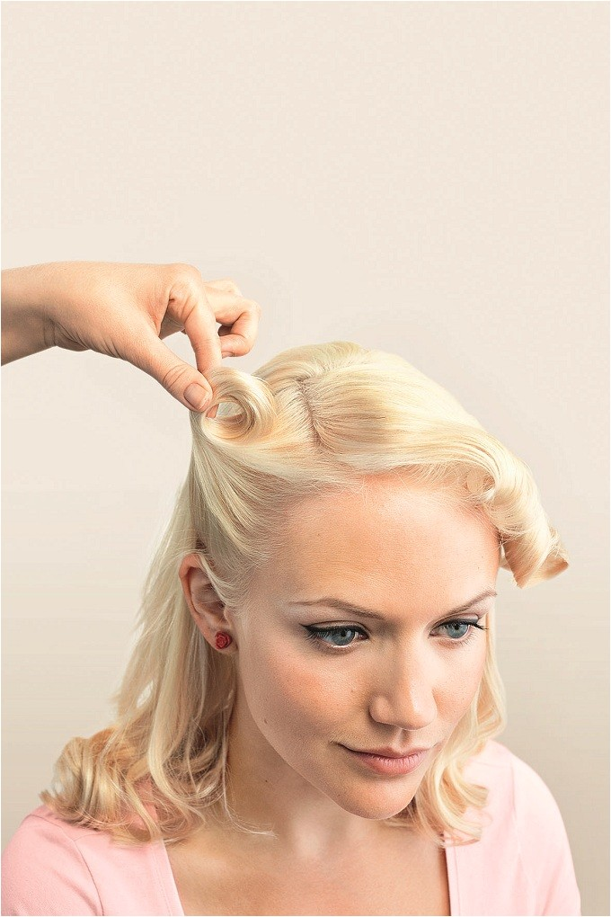 vintage hairstyles in a few easy steps