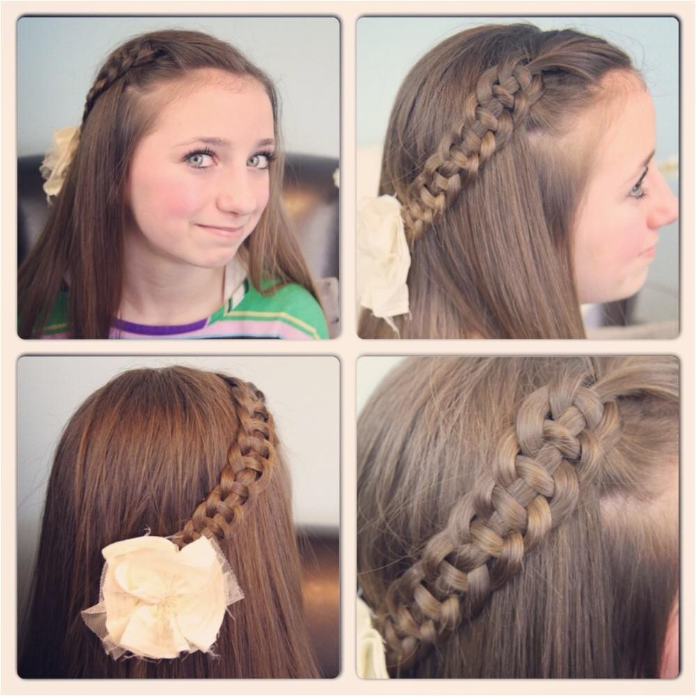 easy hairstyles for teenage girl