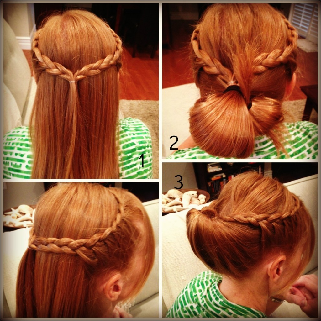 easy quick hairstyles for long hair for school