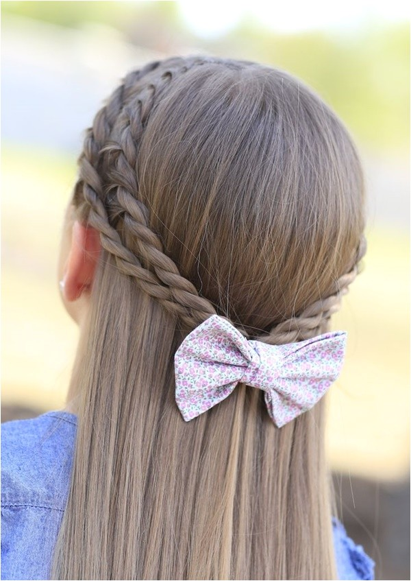 simple easy hairstyles for school girls