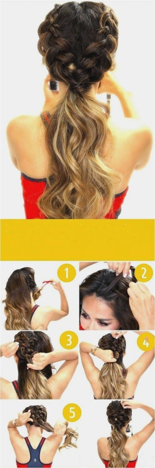 Easy Up Hairstyles for School 40 Easy Hairstyles for Schools to Try In 2016