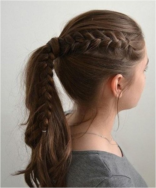 Easy Up Hairstyles for School Cutest Easy School Hairstyles for Girls