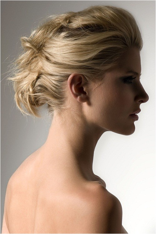 quick and easy updo hairstyles for medium length hair women