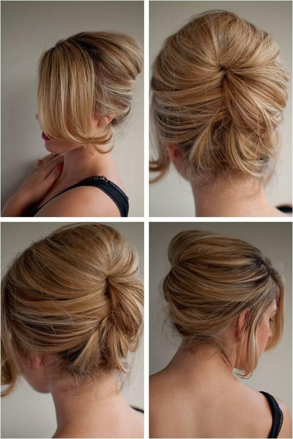 latest bun hairstyles