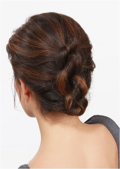 easy office updos