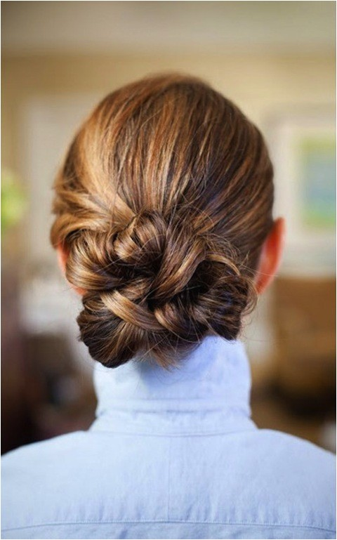 easy updos that you can wear to work