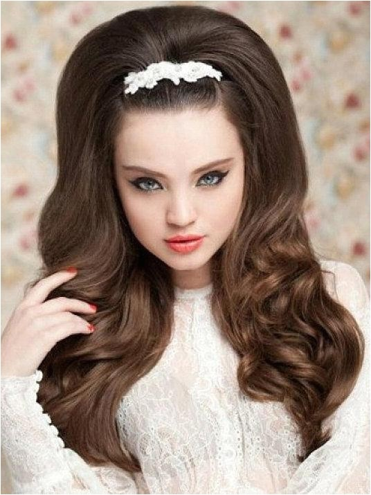 easy vintage hairstyles for long hair