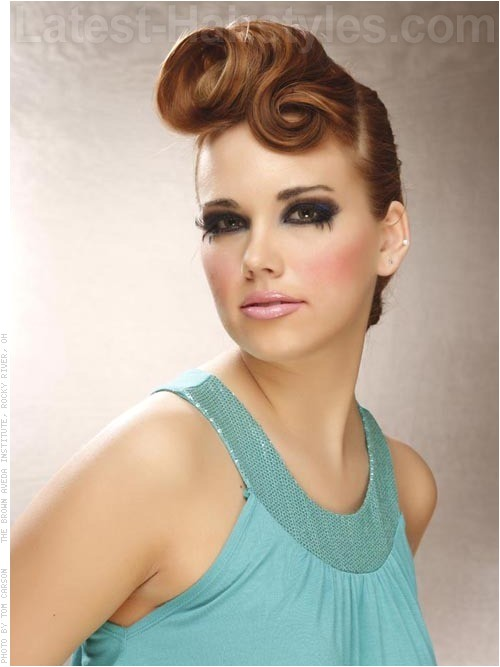 stunning updos for medium length hair 2