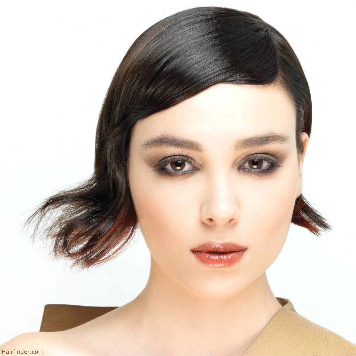 simple vintage hairstyles for short hair