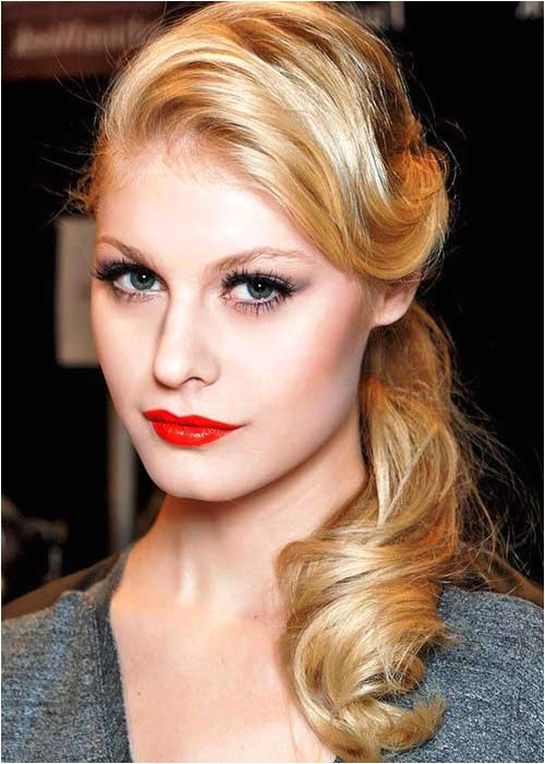 Easy Vintage Hairstyles Long Hair 30 Easy Hairstyles for Women