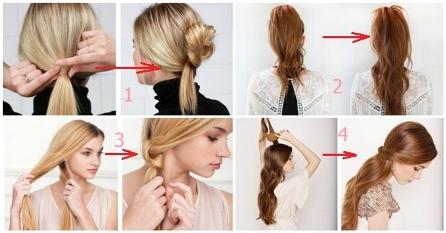 3 fast and easy ways to make amazing hairstyle