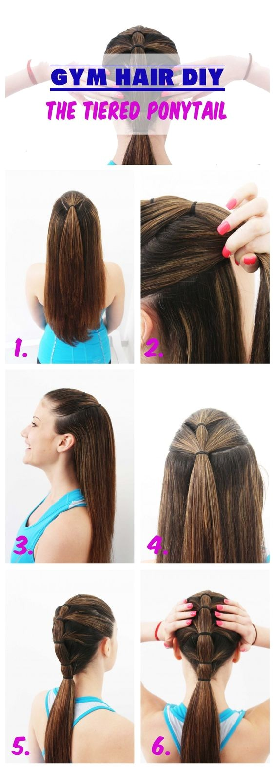 7 easy ways hair sports