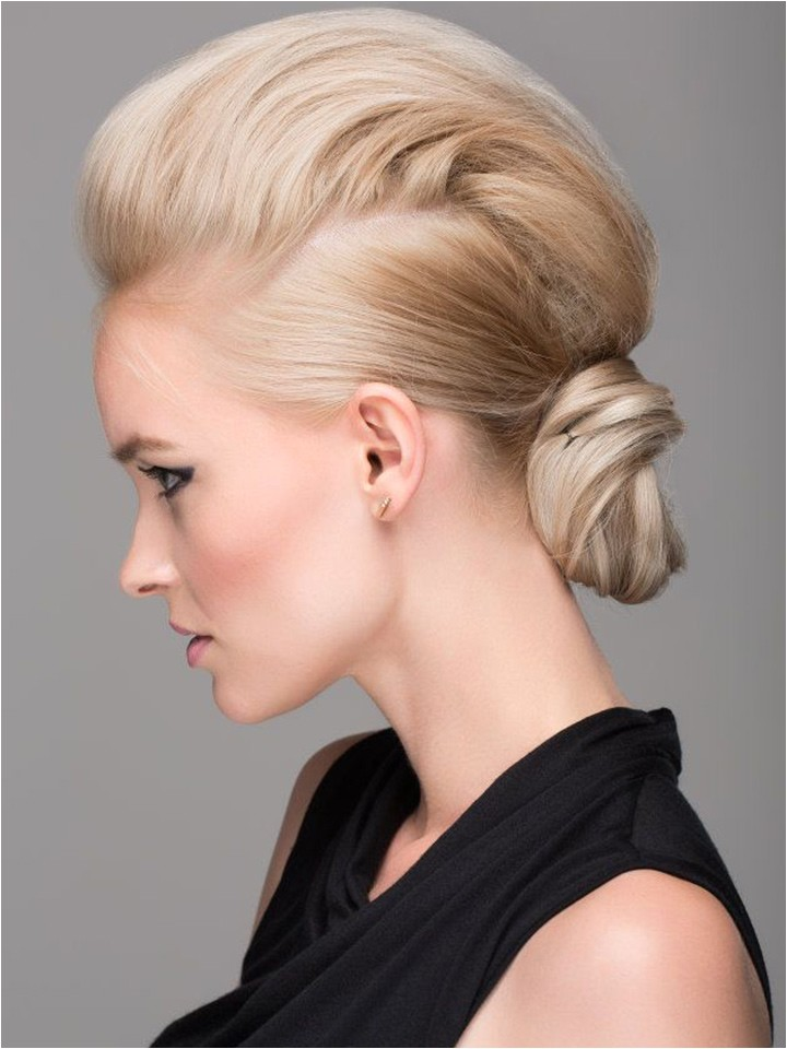 bridal faux hawk for the edgy bride