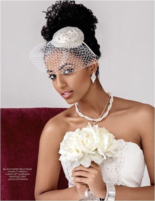 Ethiopian Wedding Hairstyle 1