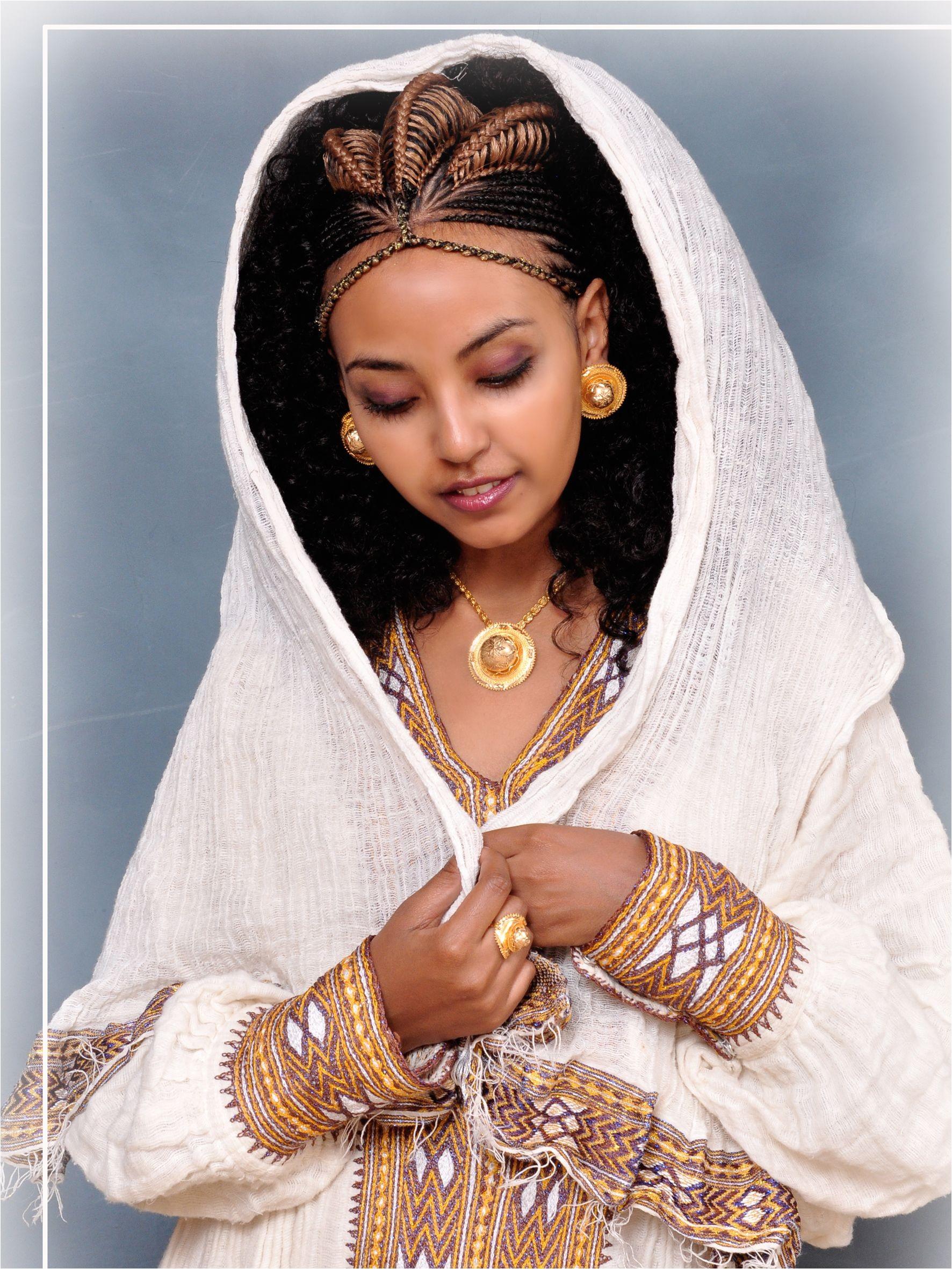 ethiopian bride hairstyles