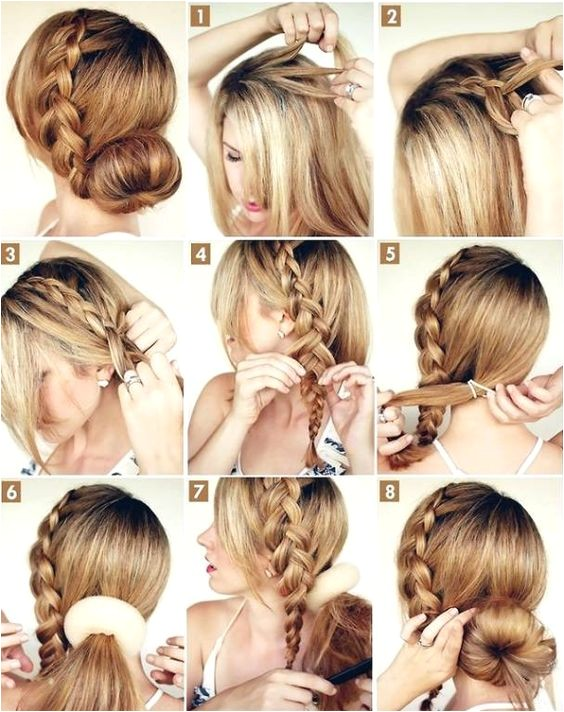 Fancy but Easy Hairstyles 37 Tipos De Peinados Con Trenzas Fáciles Paso A Paso 2018