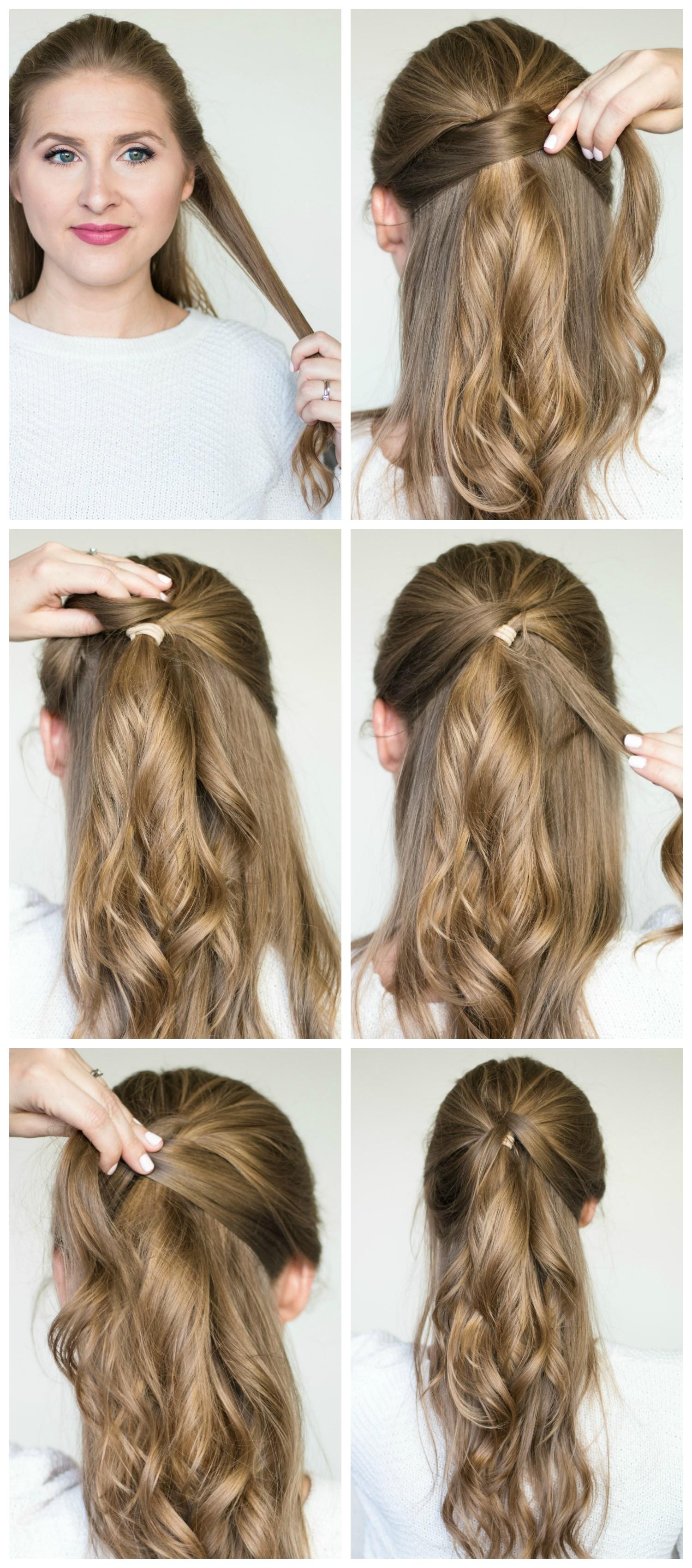 quick easy hair styles tutorials pantene