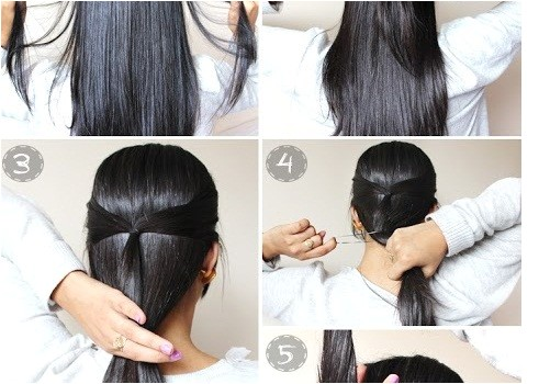 Fast and Easy Updo Hairstyles Loose & Elegant Chignon