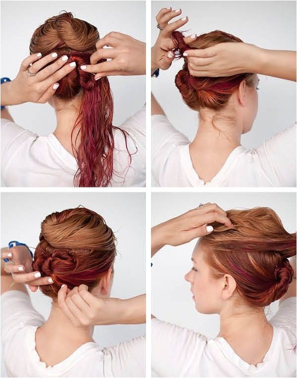 cute hairstyles for long wet hair