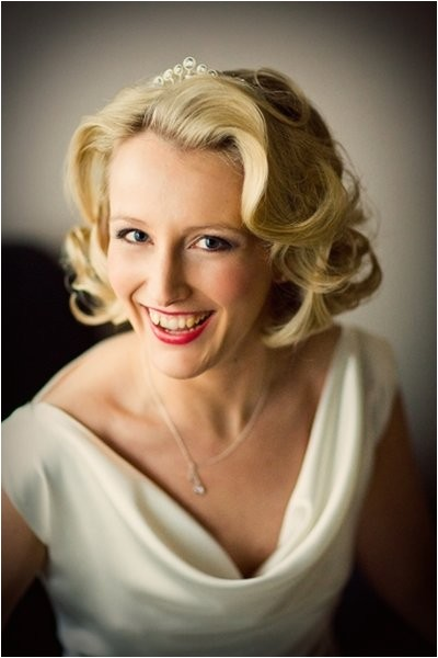 finger wave wedding hairstyles for short hair