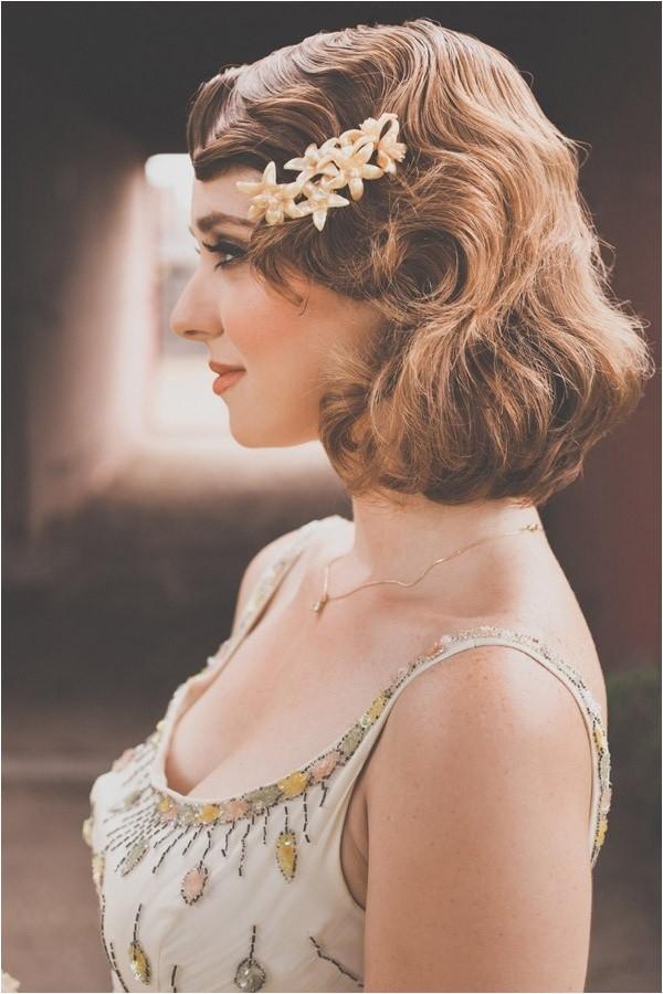vintage waves bridal hair inspiration