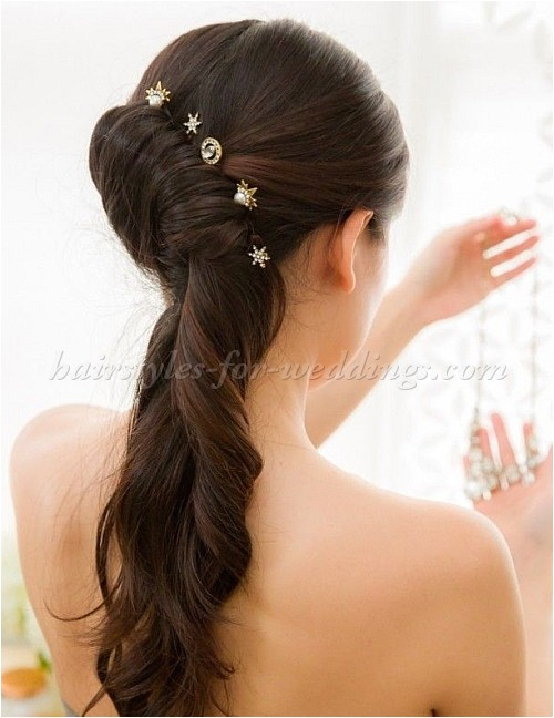 french roll hairstyle for wedding