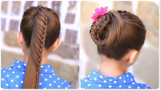 10 unique hairstyles for school week
