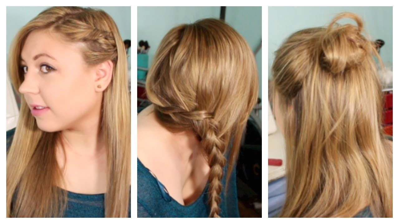 Fun and Easy Hairstyles for School Back to School Hairstyles Heatless Fun & Simple