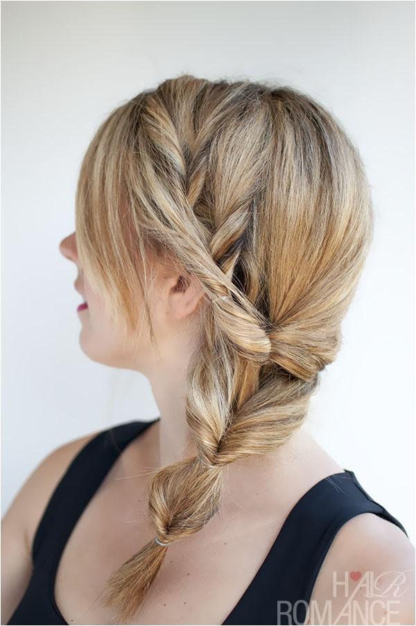 25 fun ponytail tutorials