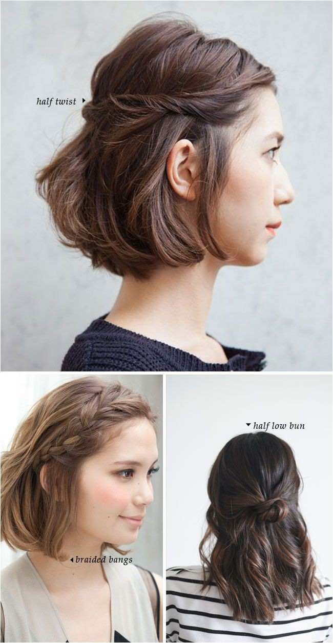 fashonable updo hairstyles for short hair