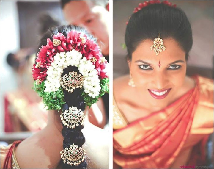 perfect hairstyles for a south indian wedding reception