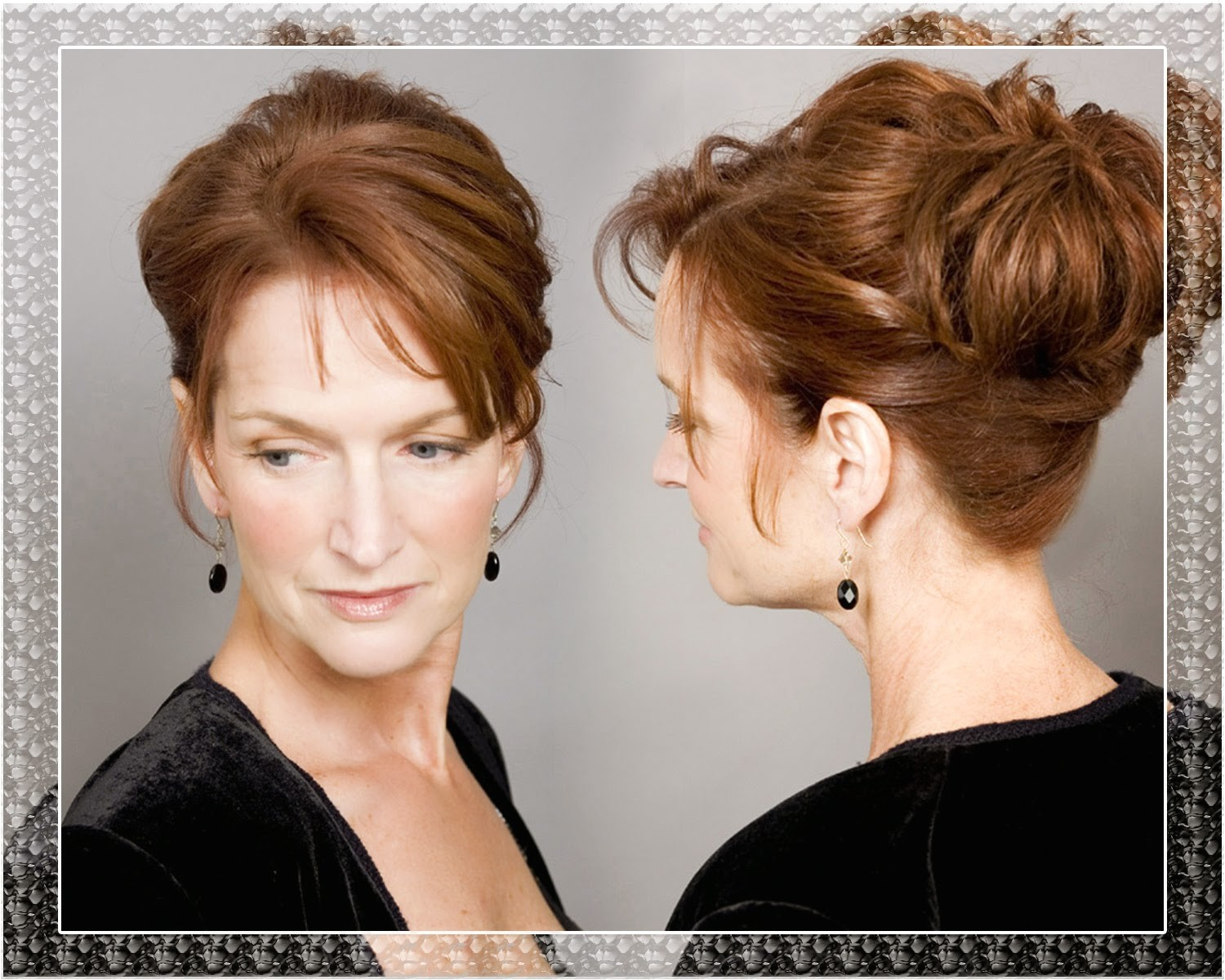 wedding hairstyles for short hair for mother of the bride