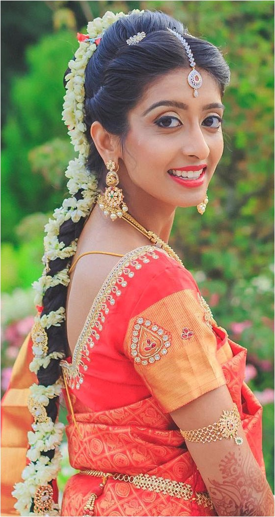 traditional indian bridal hairstyles