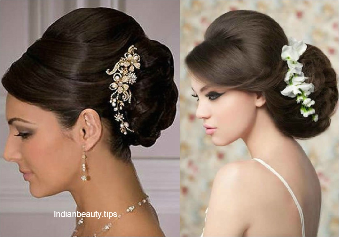 indian wedding bun hairstyles pictures