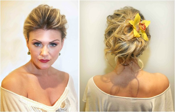 5 wedding day hairstyles