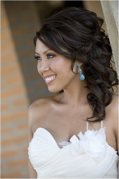 splendid ideas for wedding hairstyle for medium hairs