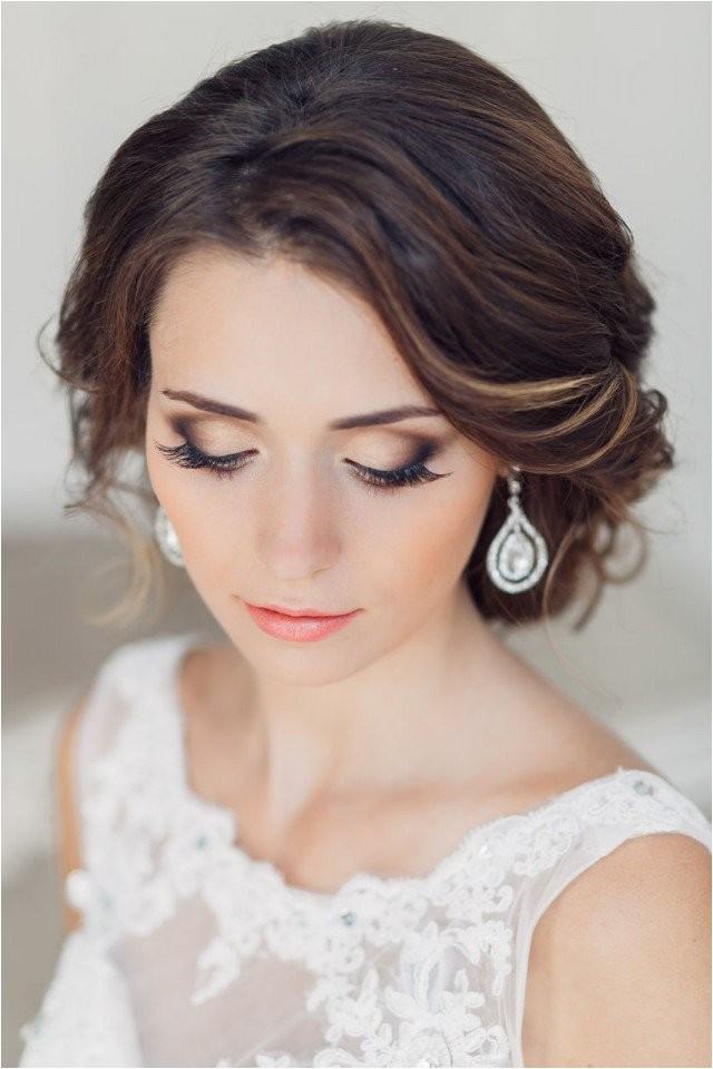 20 gorgeous bridal hairstyle and makeup ideas for 2015