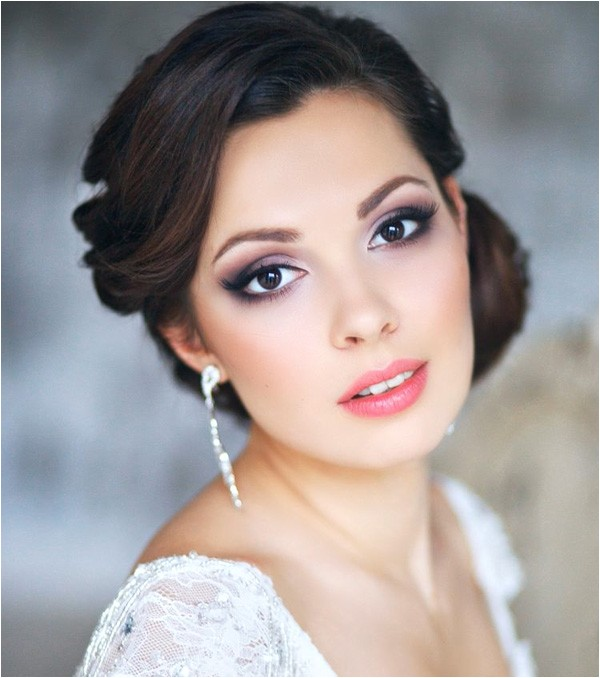 31 Gorgeous wedding makeup hairstyle ideas for every bride s