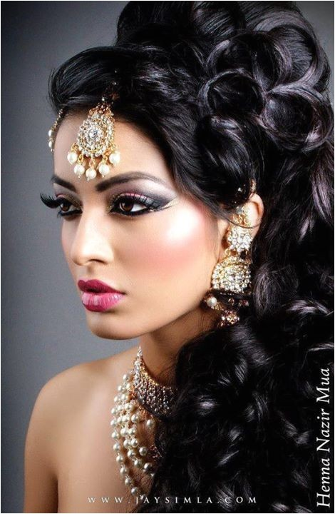 indian style makeup hairstyle looks 2015