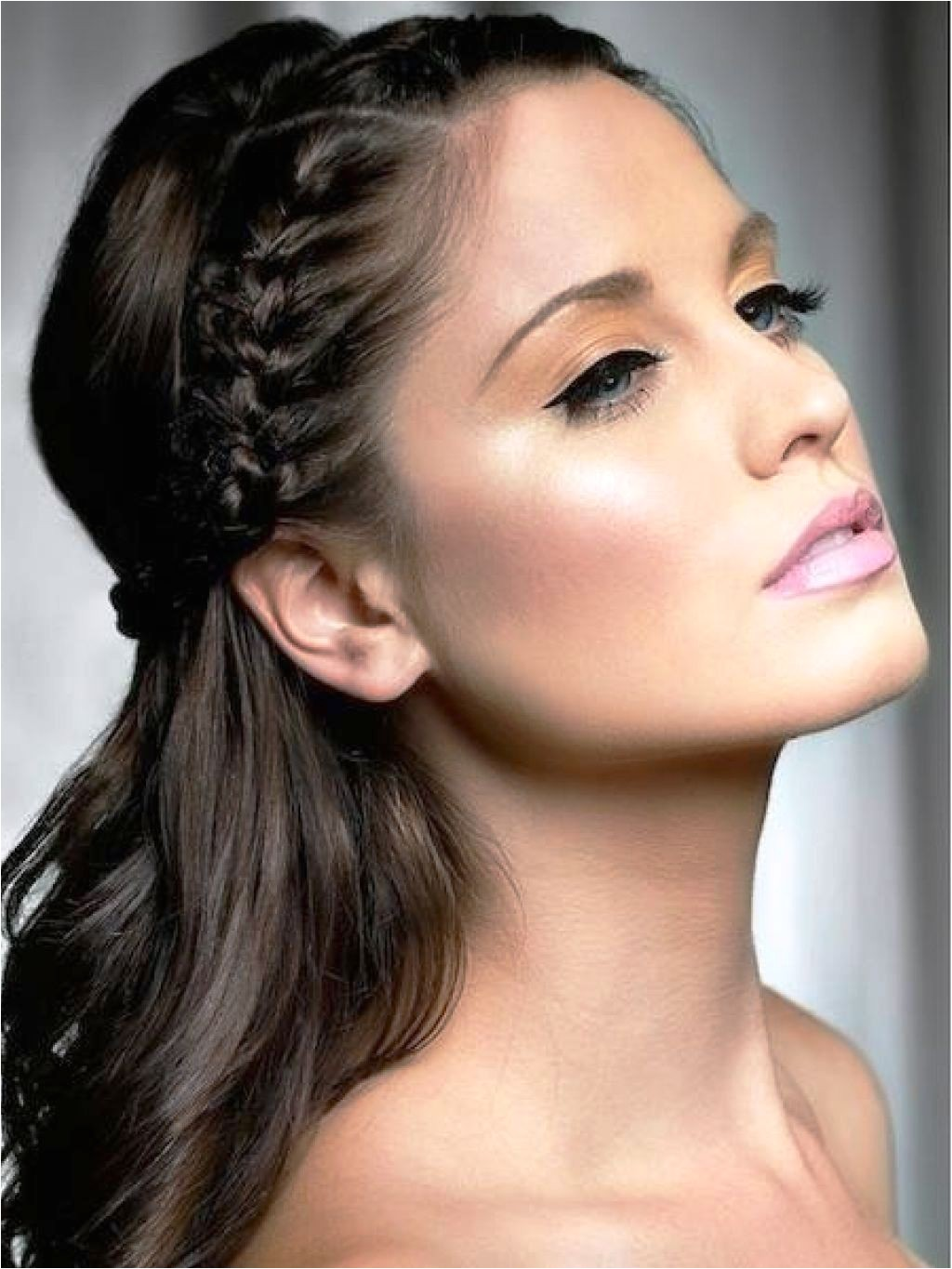 wedding guest hairstyle for long hair