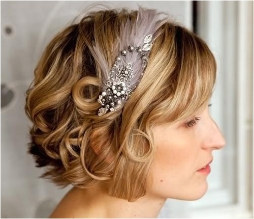 short hairstyle for wedding guest