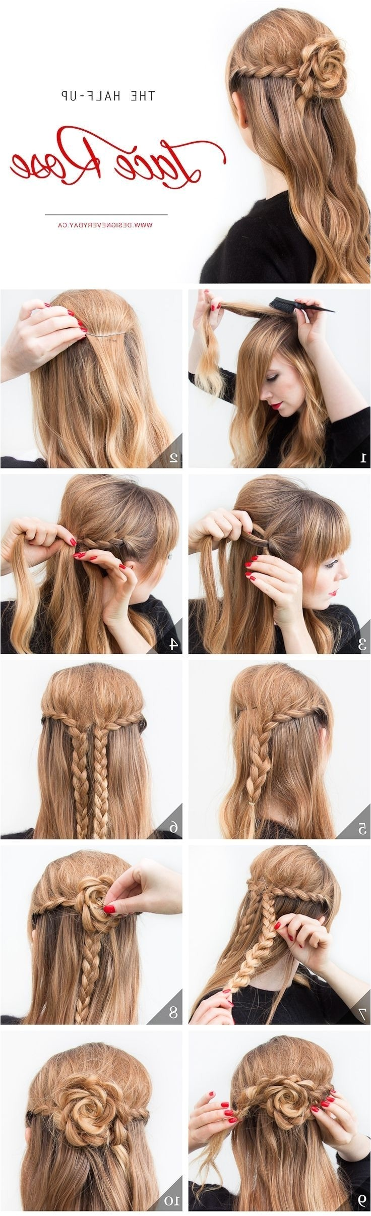 hairstyles for church easy