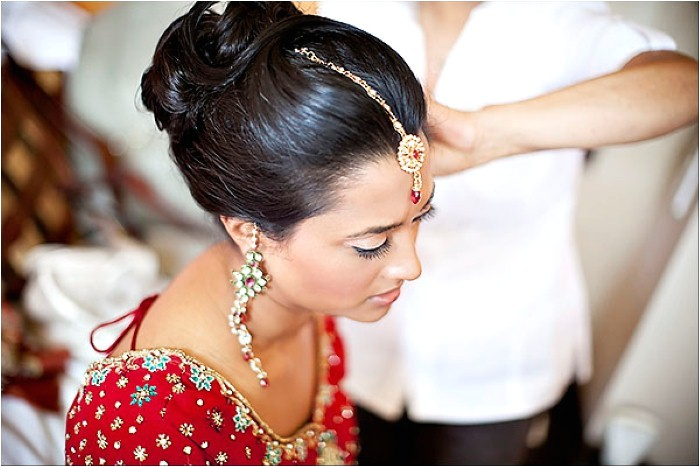 indian wedding reception hairstyles for guests