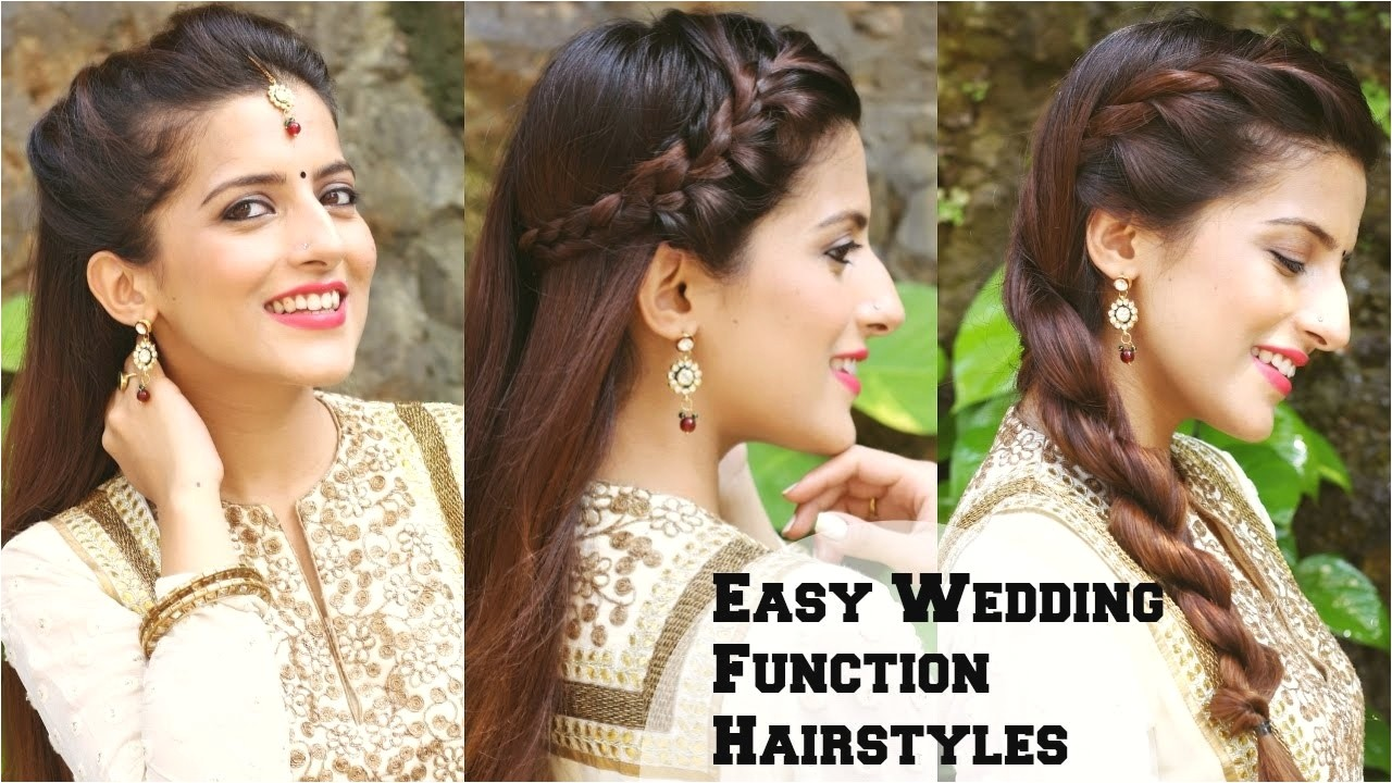 indian wedding party hairstyles for short hair