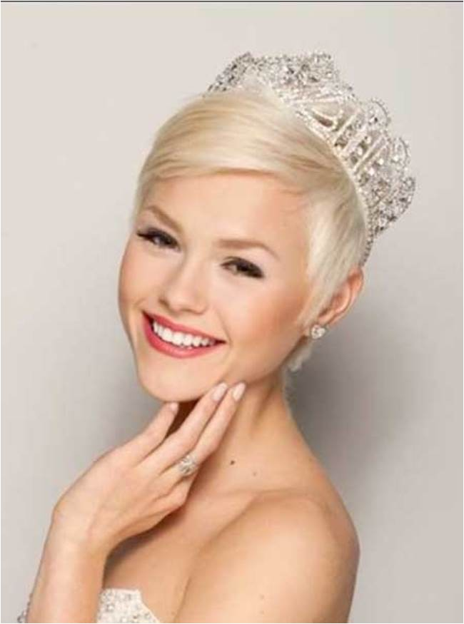 hairstyles for short hair for wedding day