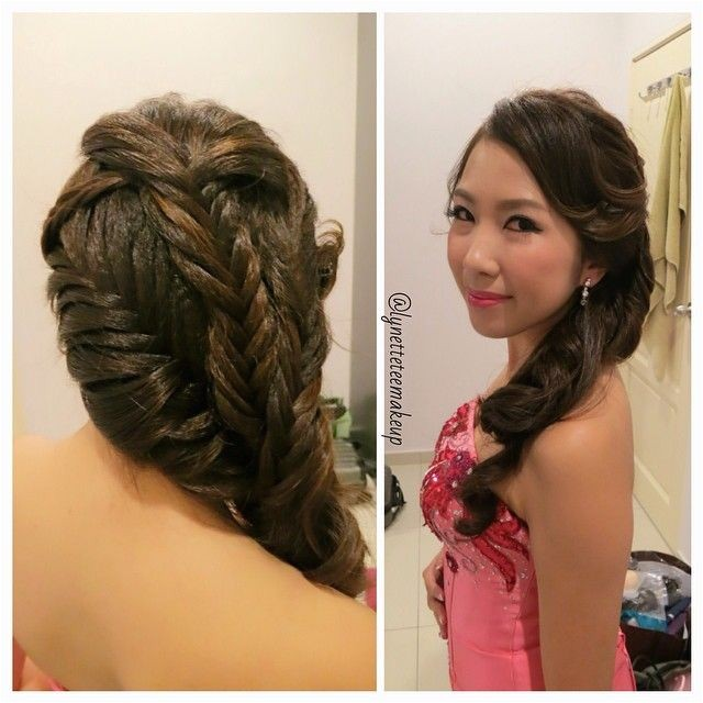 Hairstyles for Wedding Dinner 3