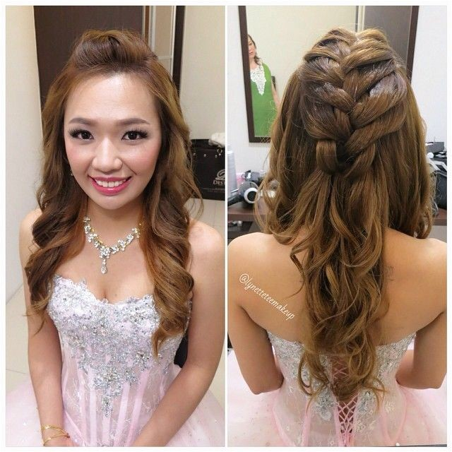 Hairstyles for Wedding Dinner 1
