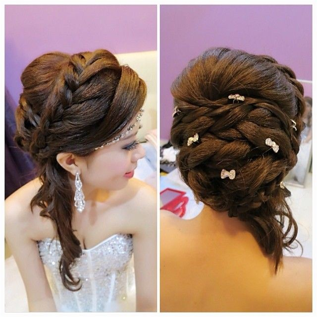 Hairstyles for Wedding Dinner 4