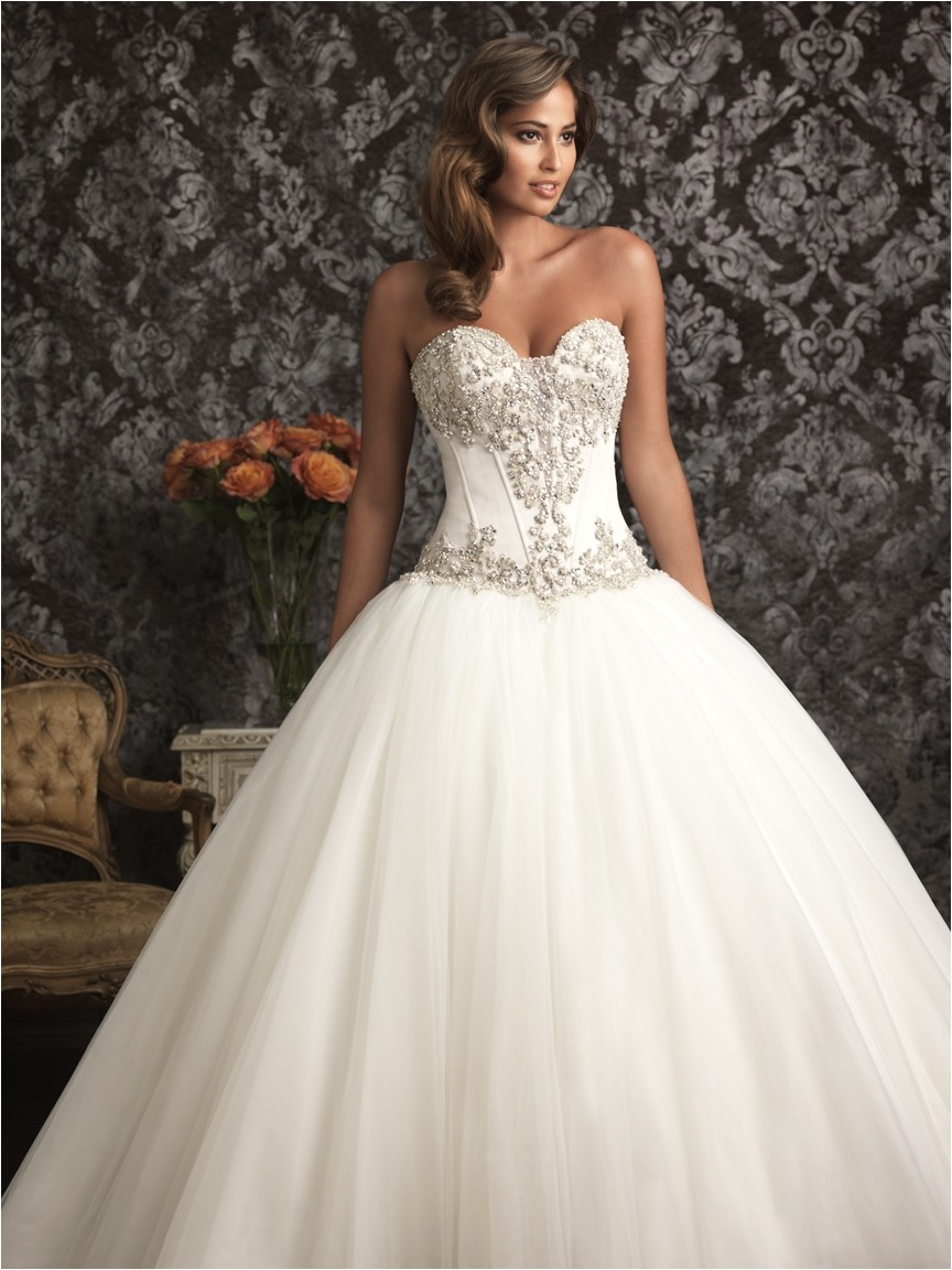 bridal gowns sweetheart neckline styles for wedding dresses