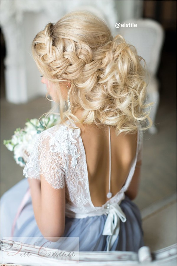 hairstyles for open back dresses